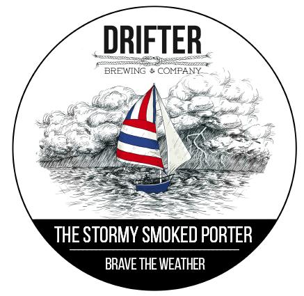 Drifter's Stormy Smoked Porter Keg