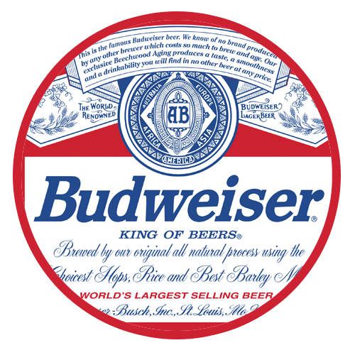 Budweiser Pale Lager Keg