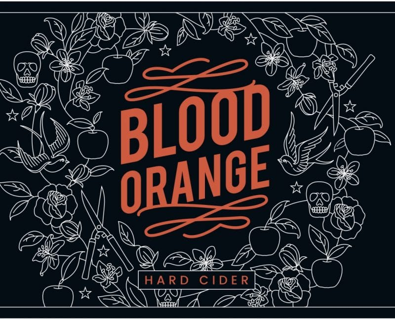 Blood Orange Hard Cider